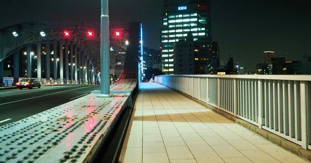 永代橋の信号