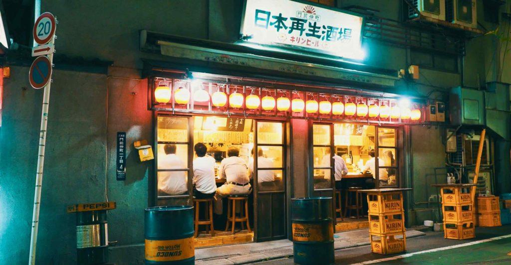 門前仲町の居酒屋を探す