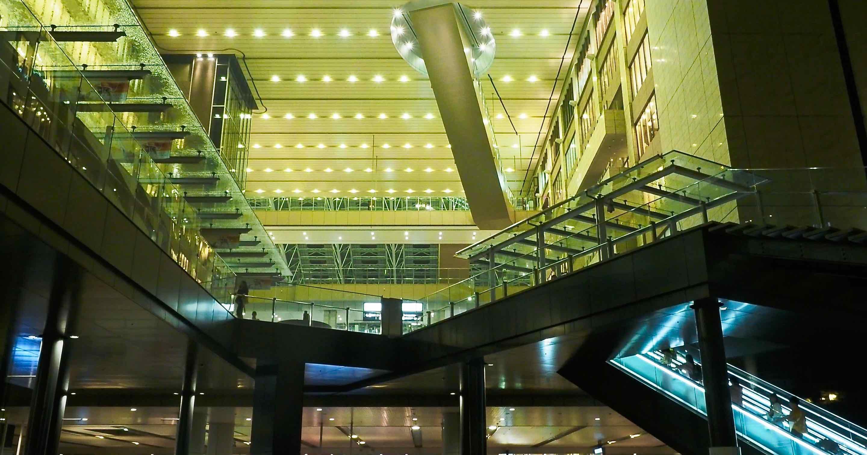 JR大阪駅夜景