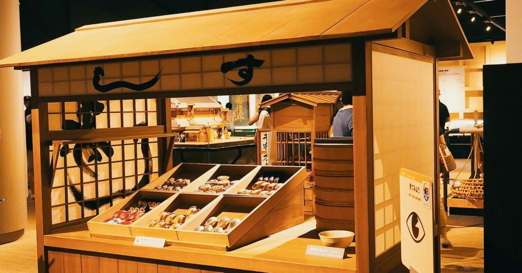 寿司屋の屋台