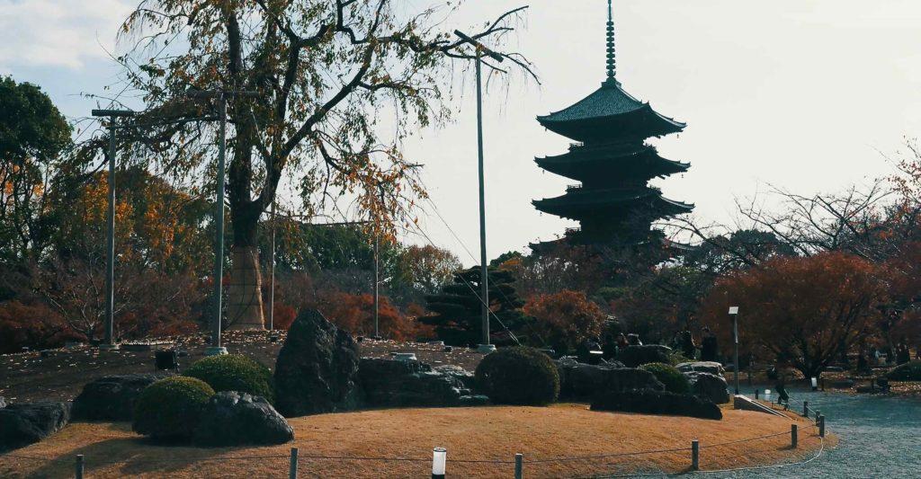 東寺のシンボルは五重塔