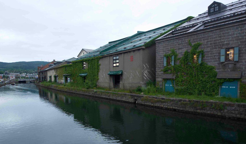 小樽運河 F値とシャッタースピードとの関係