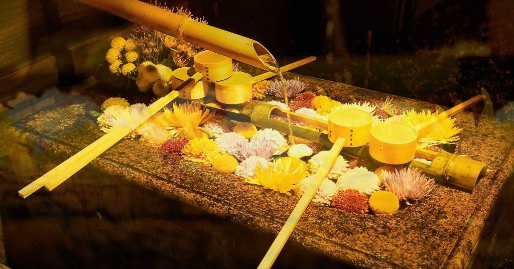 勝林寺の手水舎