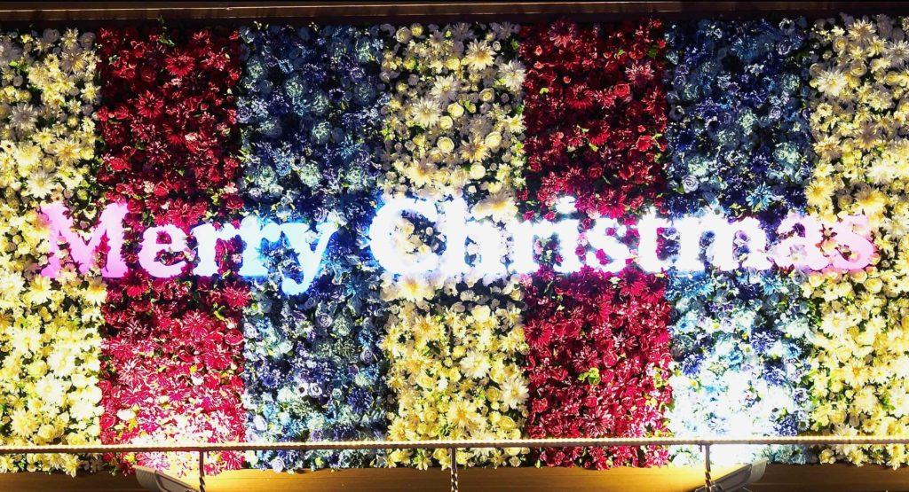 京都駅でメリークリスマス