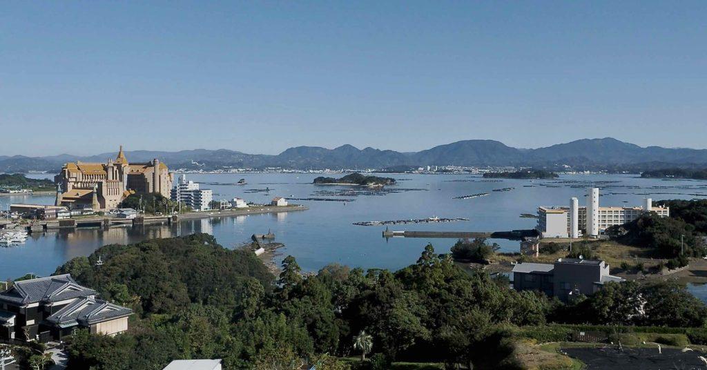 白浜古賀の井リゾート&スパからの眺め