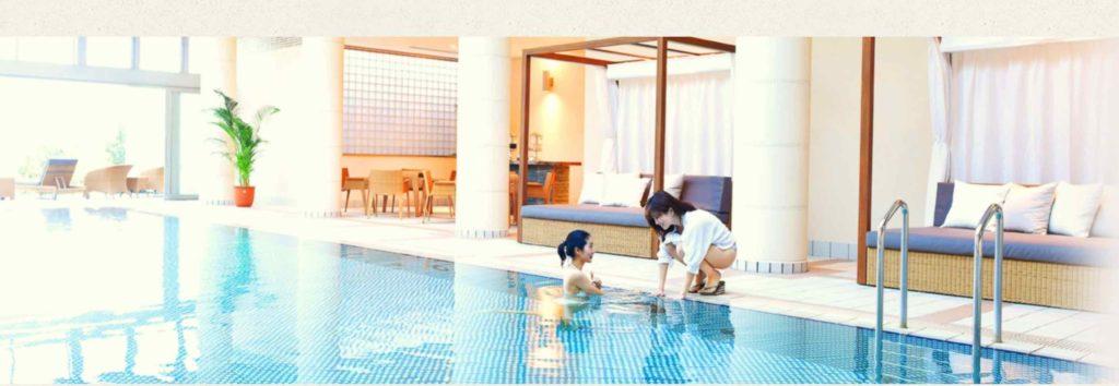 白浜古賀の井リゾート&スパ 屋内プール