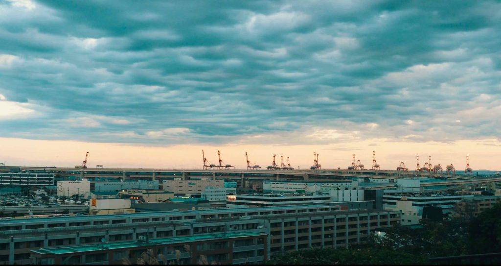 港の見える丘公園からの眺望