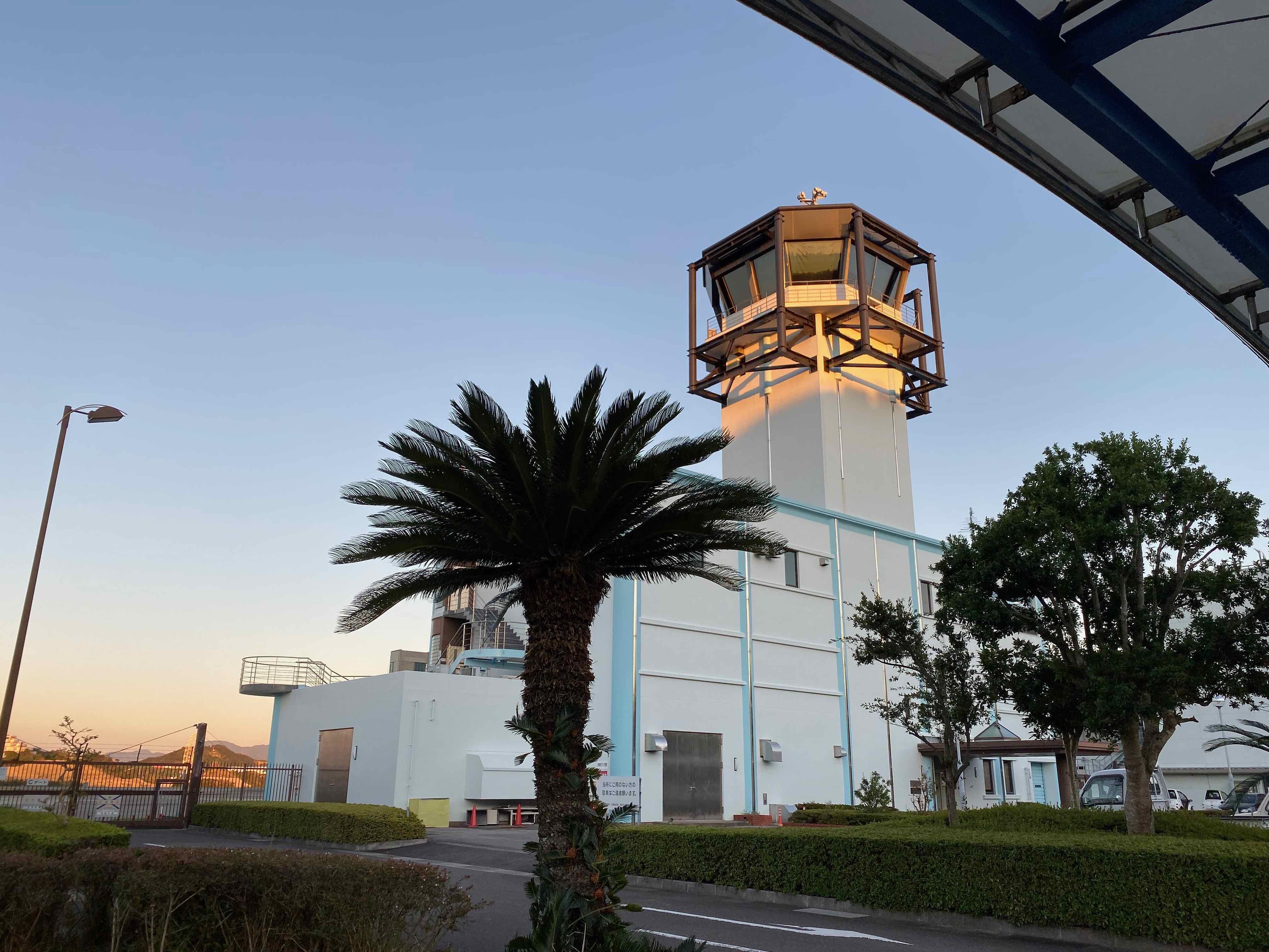 南紀白浜空港 管制塔