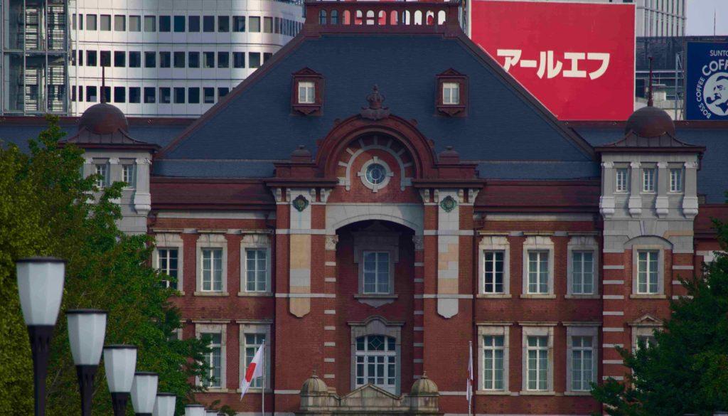 シンメトリー 東京駅駅舎