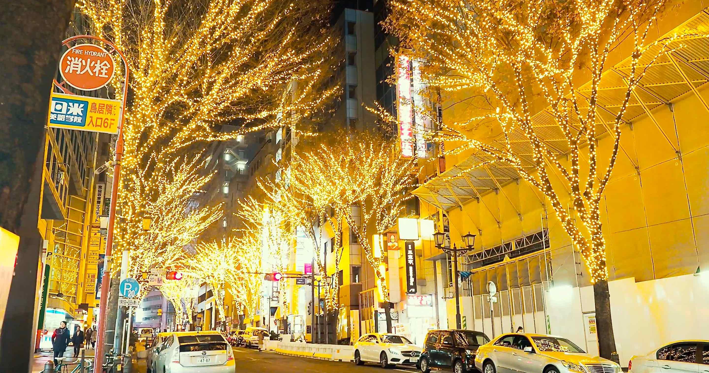 渋谷ストリームと宮益坂
