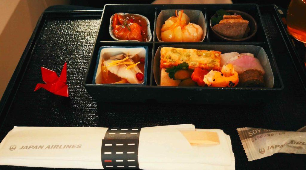 機内食ランチは和食で