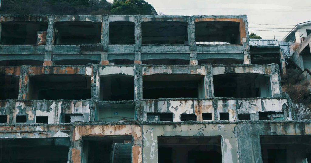 熱海 廃墟