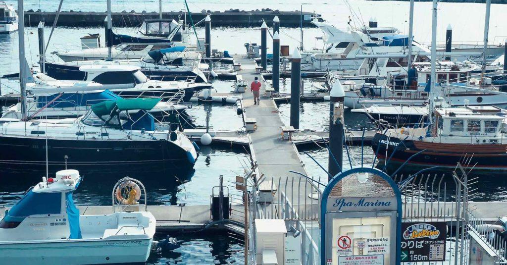 熱海港ヨットハーバー
