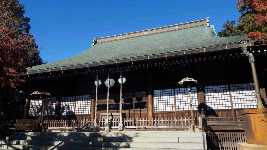 本土寺の本堂