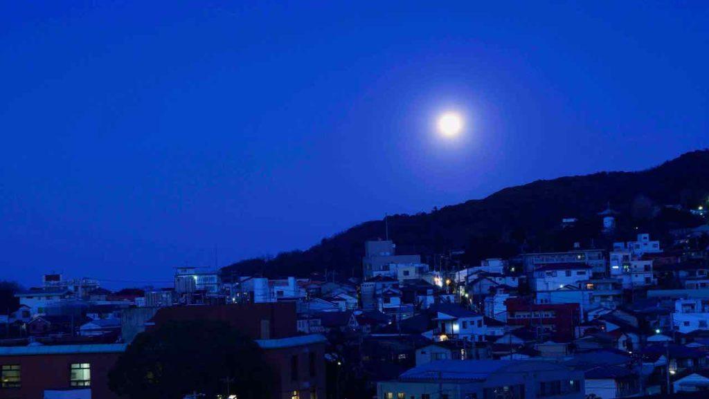 伊東温泉 月明かり