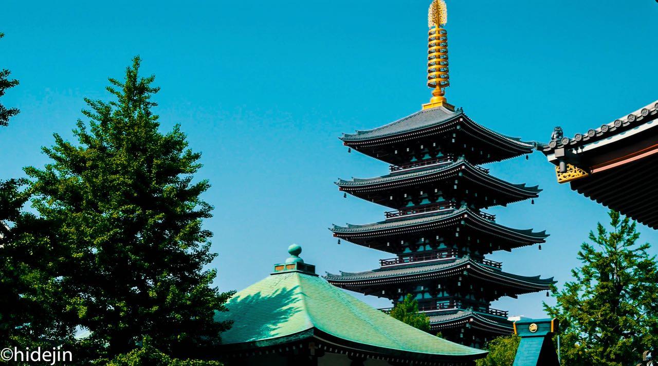 浅草寺の境内を歩いてみた