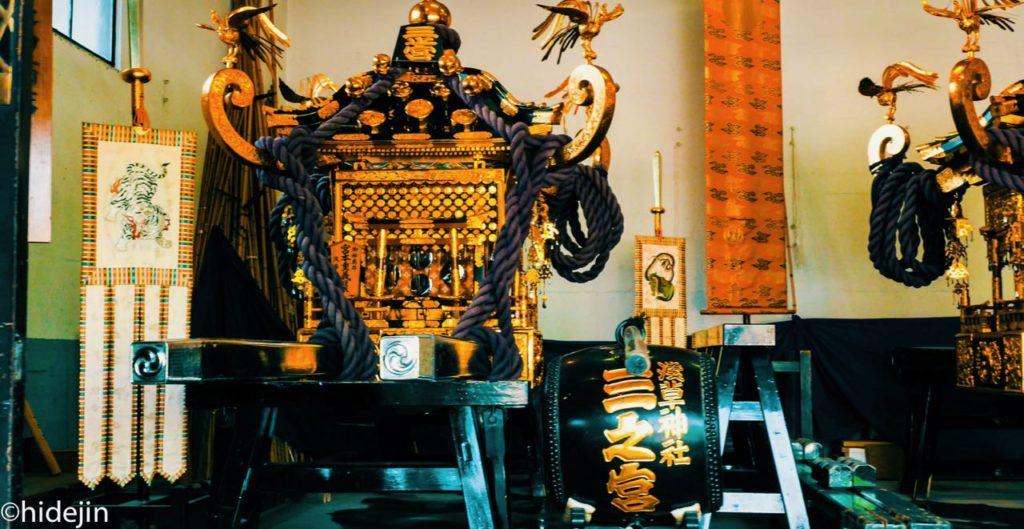 三社祭の舞台 浅草神社