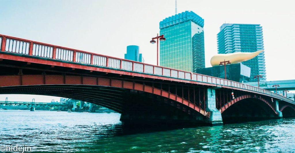 吾妻橋とアサヒビール本社
