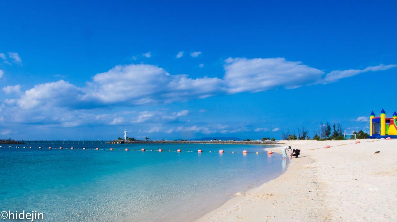 沖縄サンマリーナビーチ