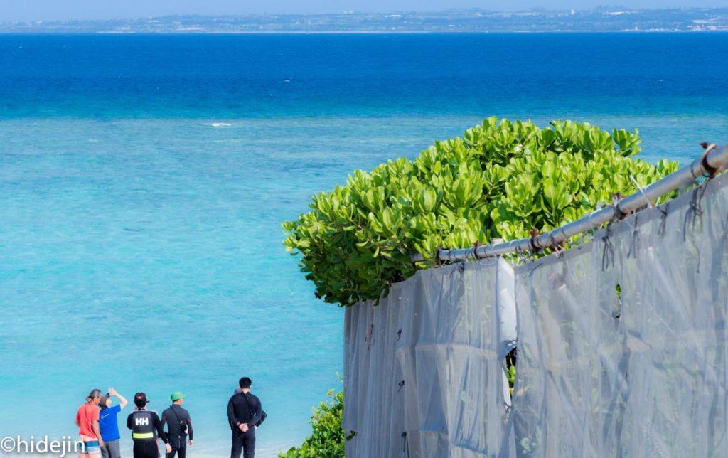 沖縄瀬底ビーチ
