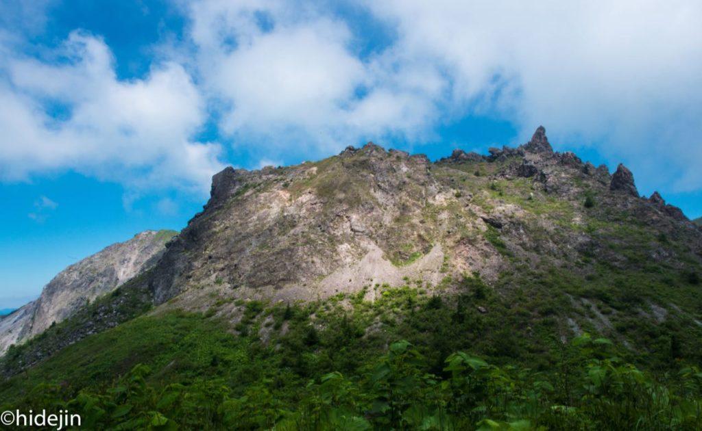 有珠山の山頂