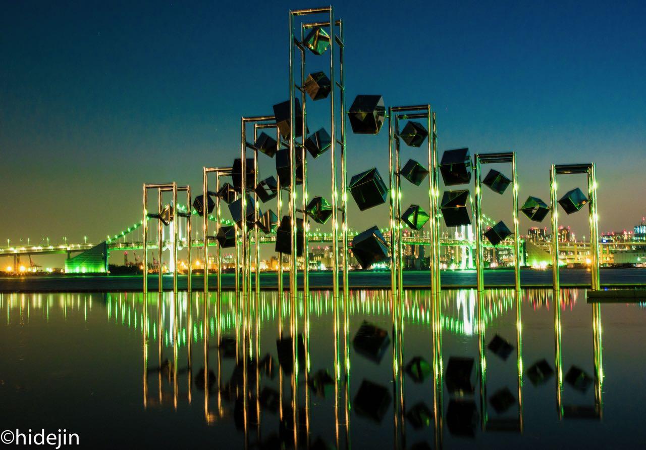 晴海埠頭の夜景は超クール