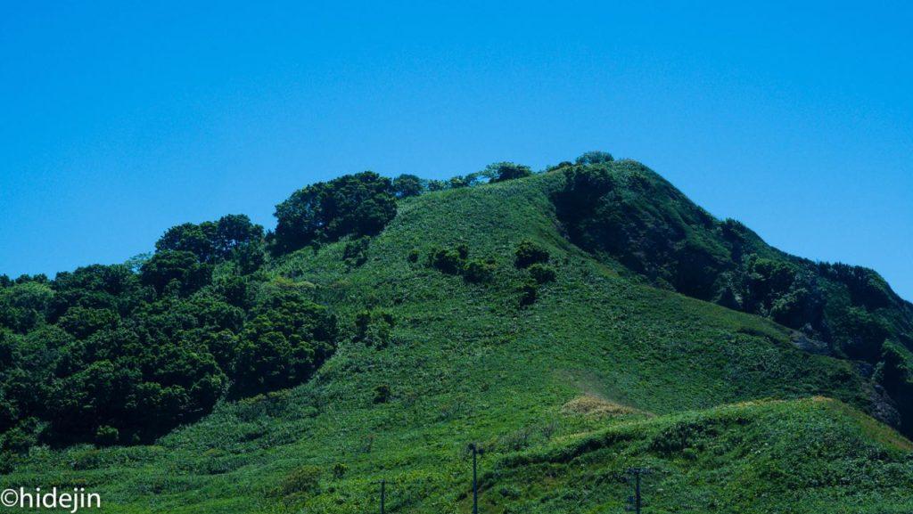 積丹半島の先端にある神威岬は義経伝説が伝わる