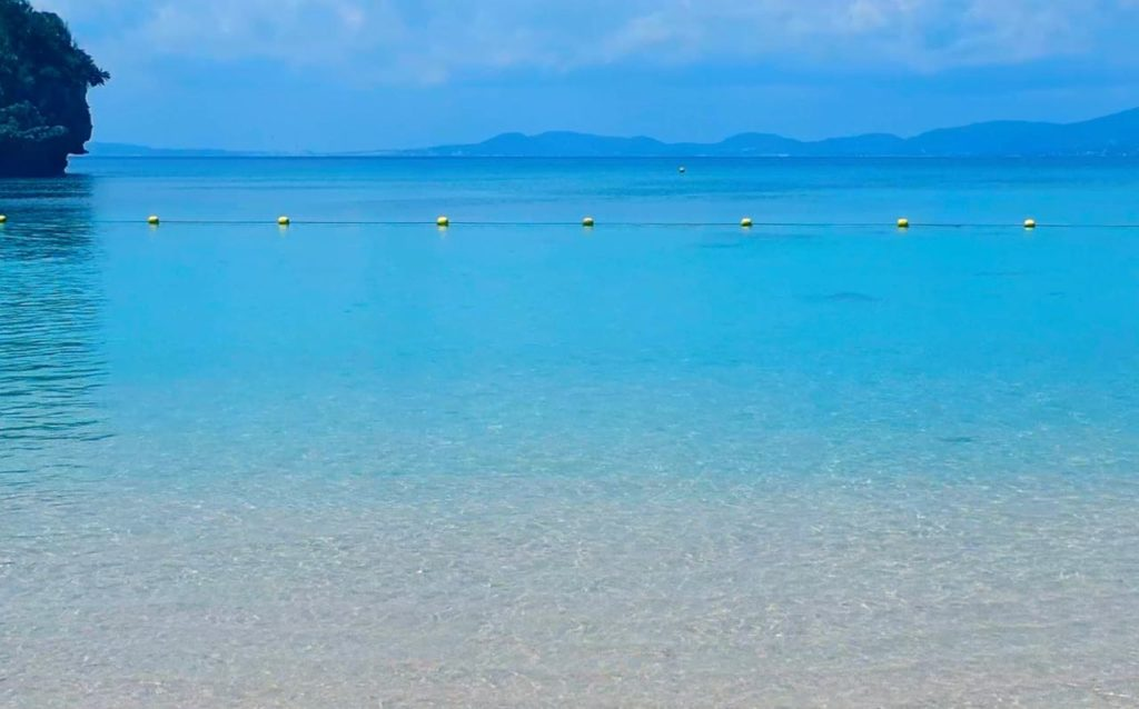 ワイルドだけど静かなビーチ