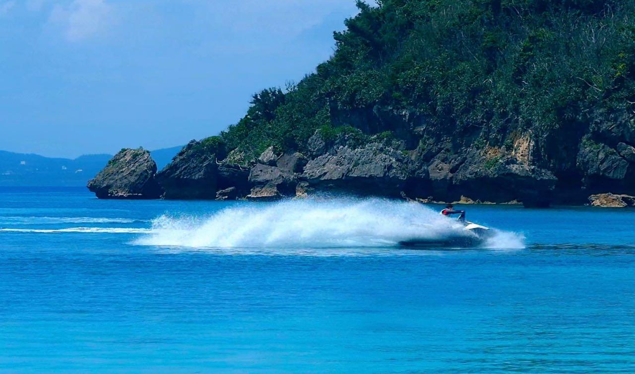 沖縄で水上バイクを撮影してみた 行った気になる動画#12