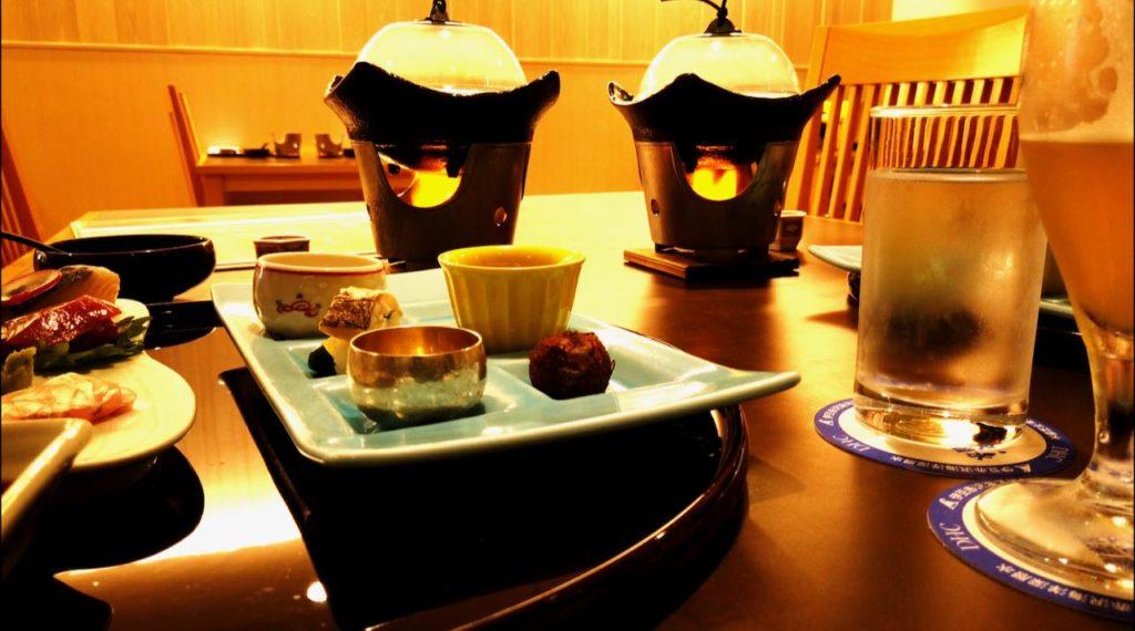 DHC赤沢温泉ホテルの食事は懐石料理