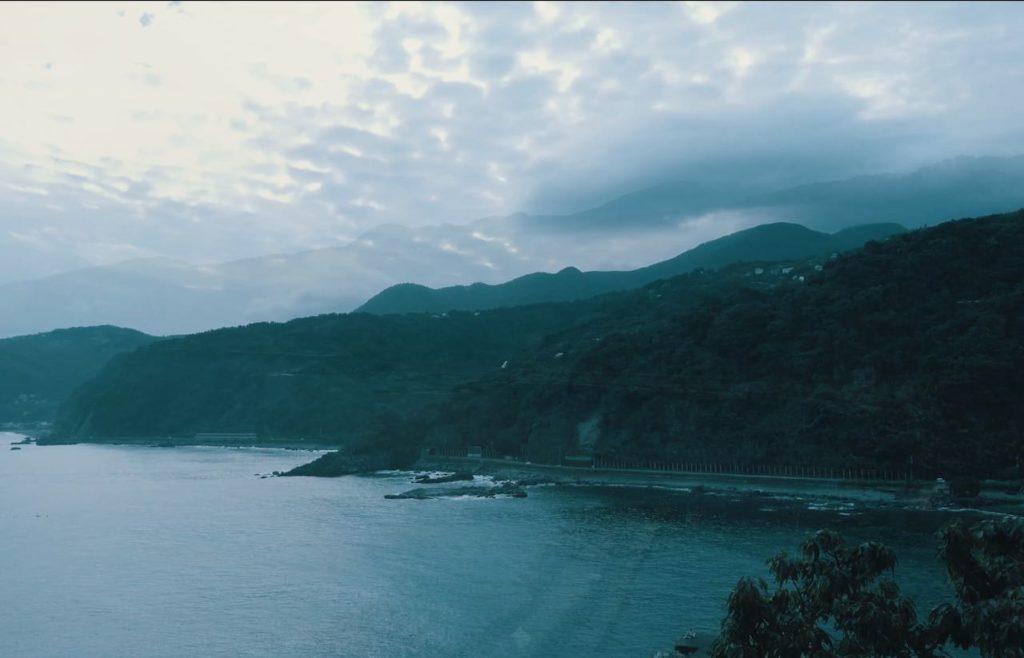 赤沢温泉ホテルからの眺め