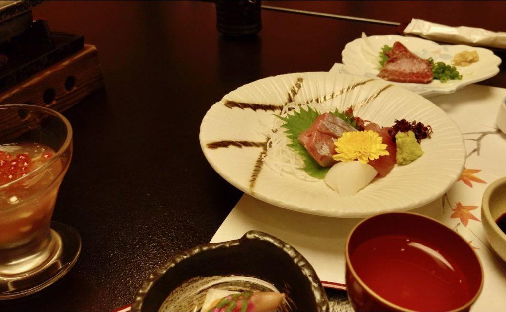 優彩の食事