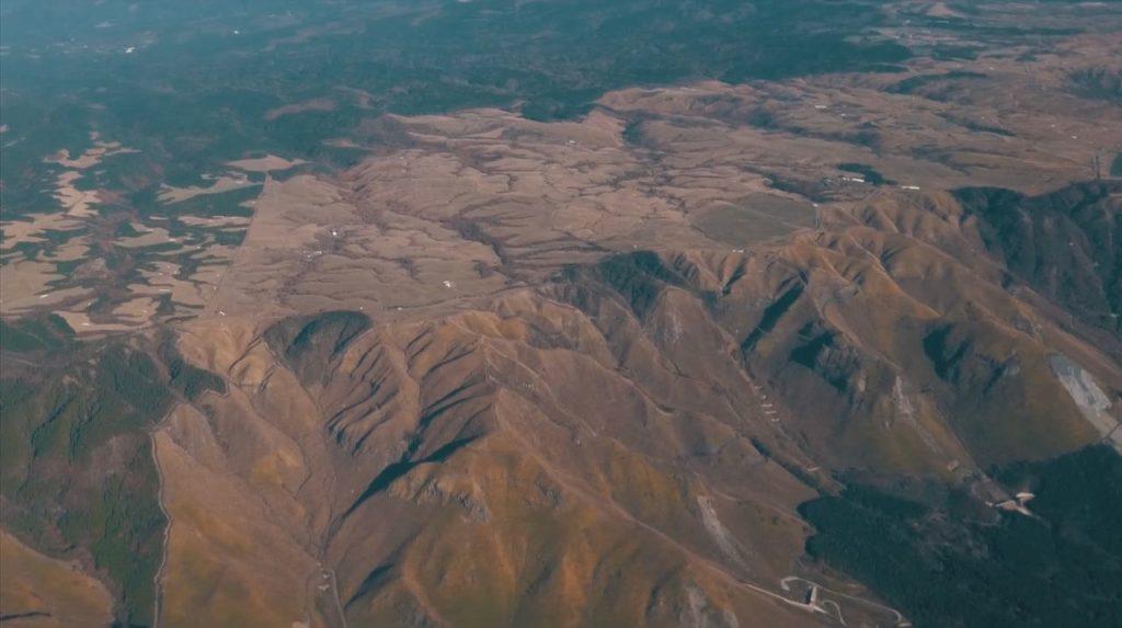 阿蘇の絶景番外編 空からの眺め