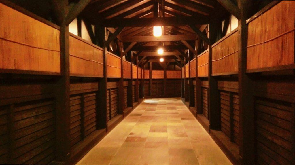 シェラトングランデオーシャンリゾートの温泉への長い道のり 長い廊下の始まり