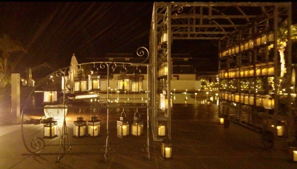 シェラトングランデオーシャンリゾートの施設は充実 願いのランタン