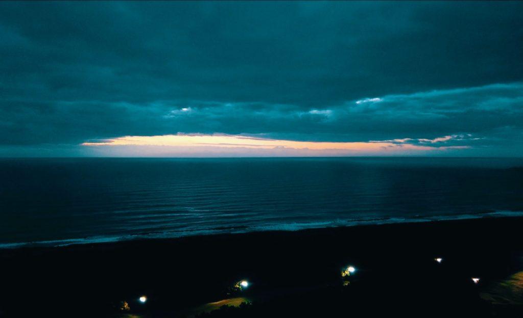 シェラトングランデオーシャンリゾートのデラックスツインの部屋 日の出が見られる部屋