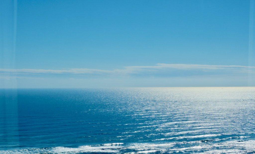 シェラトングランデオーシャンリゾートのデラックスツインの部屋 オーシャンビューの眺め