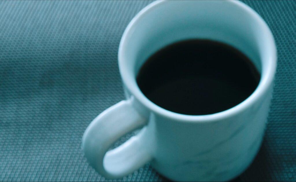 そしてコーヒーを淹れる